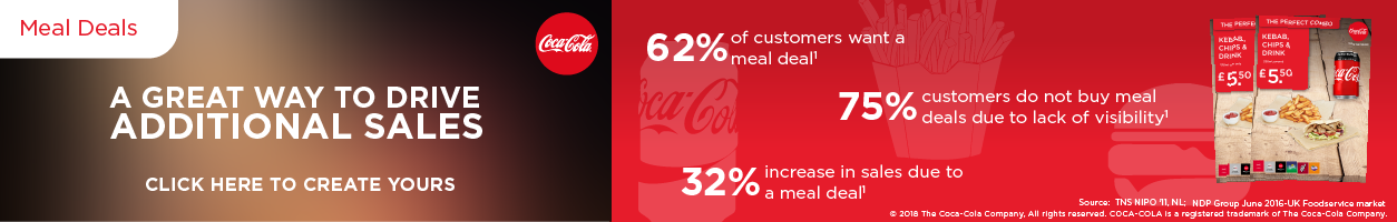 Coca Cola Meal Deal POS