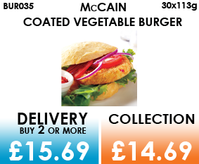 Mccain vegetable burgers
