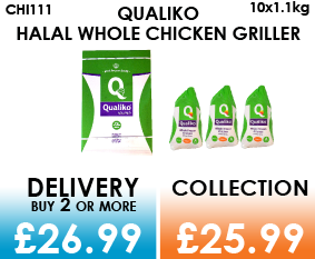 Qualiko whole chicken griller