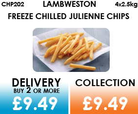 Lamb Weston Freeze Chilled Julienne