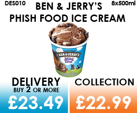 Ben & Jerry Phish Food
