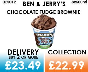 Ben & Jerry Fudge Brownie