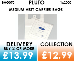 pluto carrier bags
