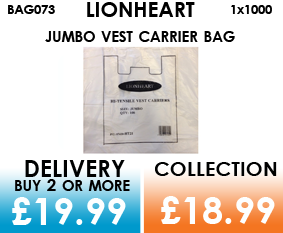 lionheart carrier bags