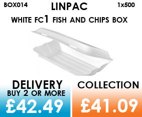 linpac fc1 fish and chips box