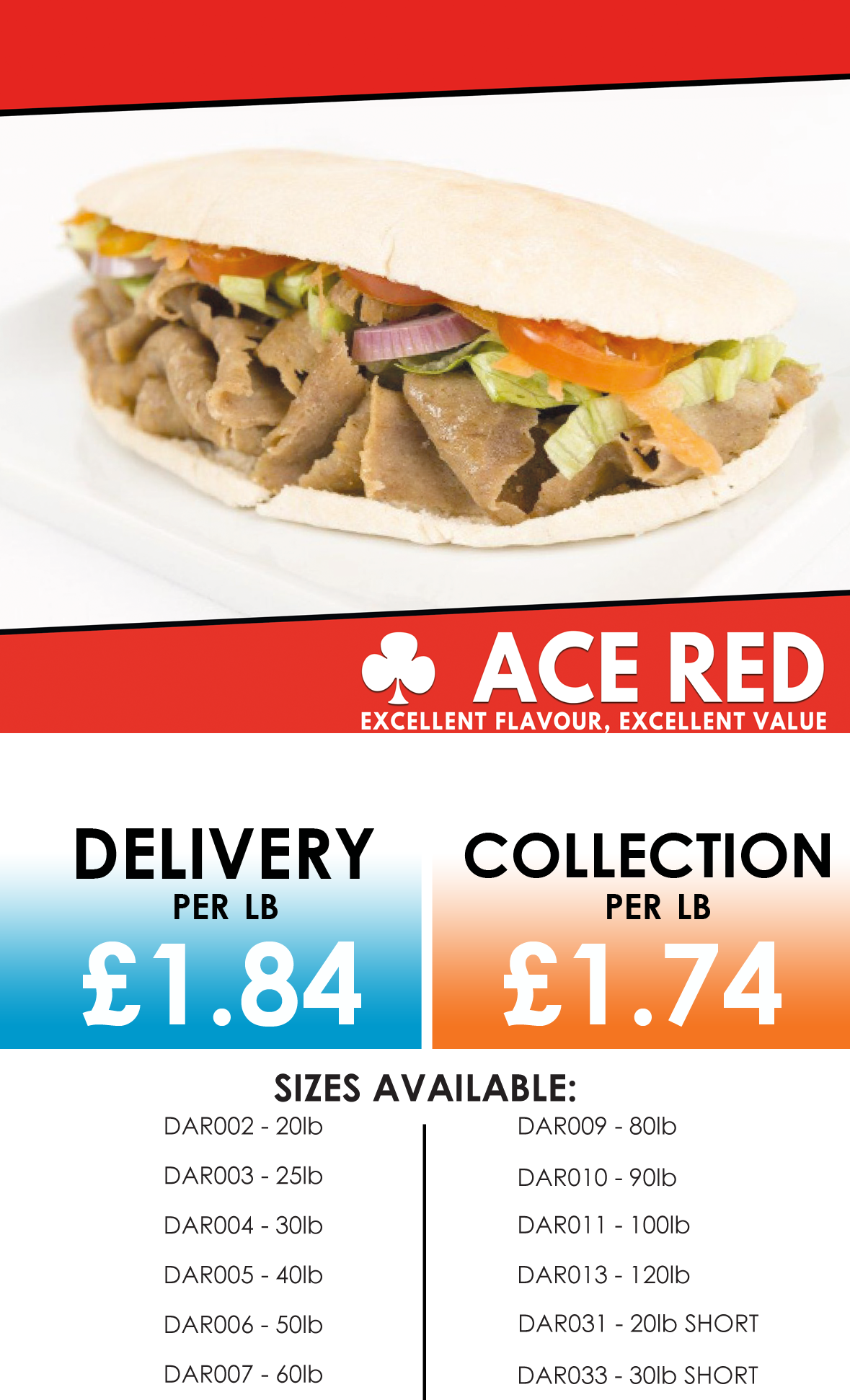 ace red doner