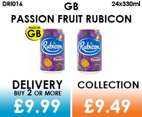 GB rubicon Passion fruit