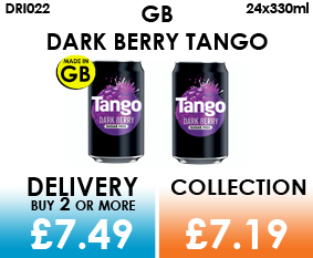 GB Dark Berry Tango Cans