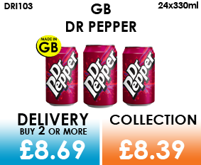 GB dr pepper can
