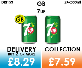 GB 7UP Cans
