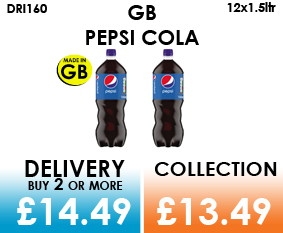 gb pepsi 1.5 litre bottles