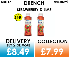 drench strawberry & lime 500ml