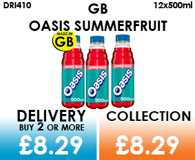 gb oasis summer fruits 500ml