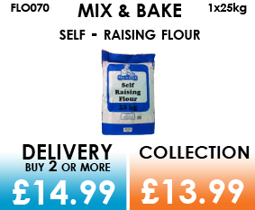 mix and bake self raising flour