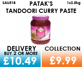 pataks tandoori curry paste