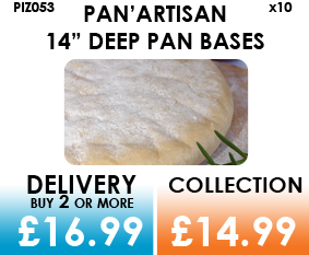 deep pan pizza base