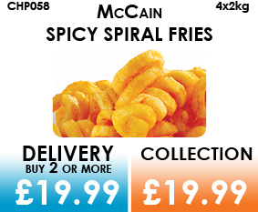 McCain Spiral Fries