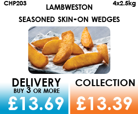 Lamb Weston Skin-on Wedges