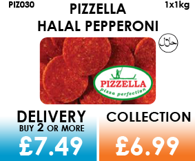 pizzella halal pepperoni