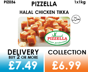 pizzella chicken tikka
