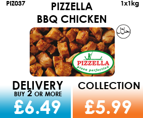 pizzella halal bbq chicken