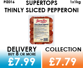supertops thinly sliced pepperoni