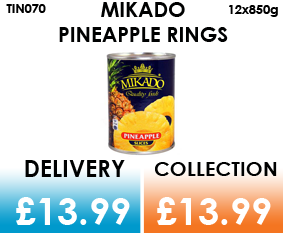 mikado pineapple rings