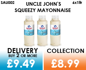 Uncle john squeezy Mayonnaise