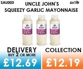 Uncle john Garlic Mayonnaise