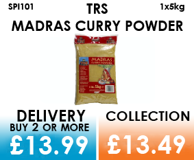 trs madras curry powder